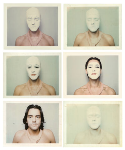 Ulay, 'White Mask', 1973