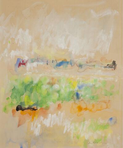 Jane Freilicher, 'Abstract Landscape', 1963