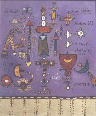 Alan Davie, 'Struve ', 2008