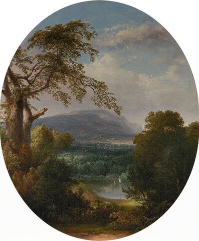 Thomas Doughty, 'Lake Vista with Fishermen'