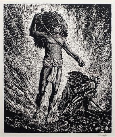 Leopoldo Mendez, 'Cuauhtémoc', ca. 1950