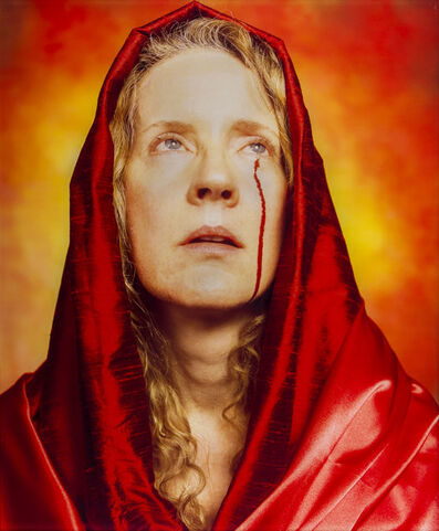 Andres Serrano, 'Blood Madonna from the series Holy Works', 2011