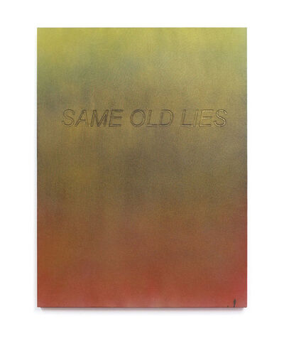 Allison L. Wade, 'Same Old Lies', 2016