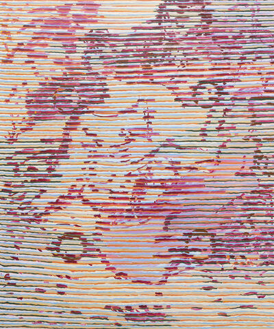 Delphine Hennelly, 'After Watteau in Pink', 2018