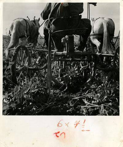 Dorothea Lange, 'Farm Machine, Oregon', 1939