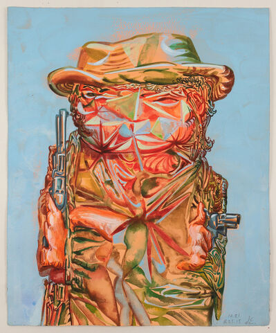 James Esber, 'Untitled (Two Gun Cowboy)', 2015