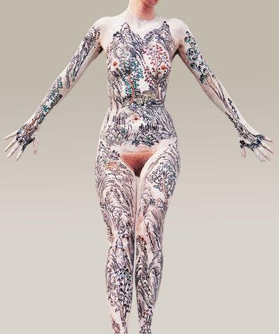 Huang Yan, 'Body Shan-Shui 4', 2001
