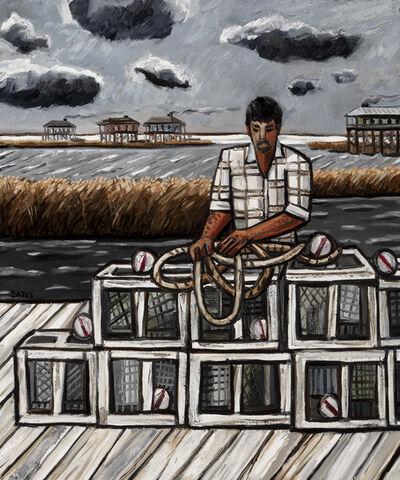 David Bates, 'Crab Fisherman (DBAT 0364)', 2017
