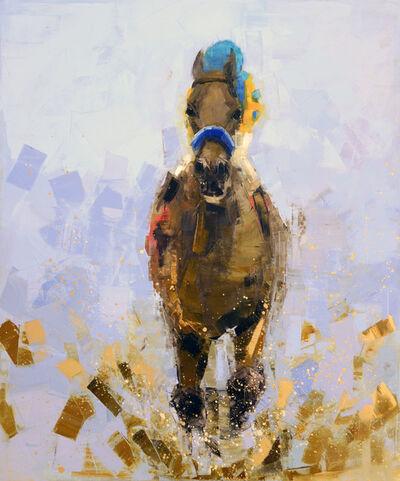 Rebecca Kinkead, 'Horse and Rider', 2017