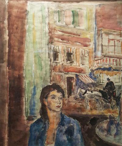 """Arturo Souto, '""""Mujer con casas""""'"""