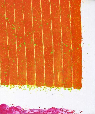 Hsiao Chin 蕭勤, 'La forza del colore arancio 橙之力', 2009