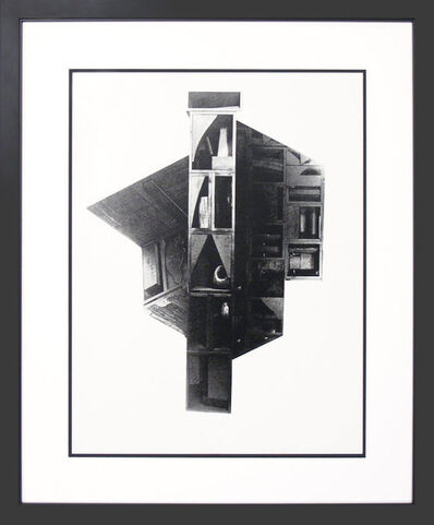 Louise Nevelson, 'Facades No. 2 (From a Portfolio of 12 Screenprints in Homage to Edith Sitwell', 1966