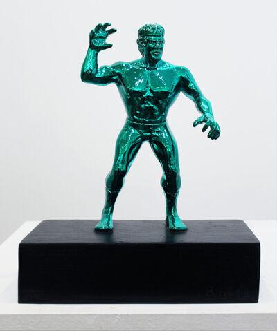 Philippe Berry, 'Catcheur Vert', 2015