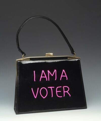 Michele Pred, 'I Am a Voter', 2020