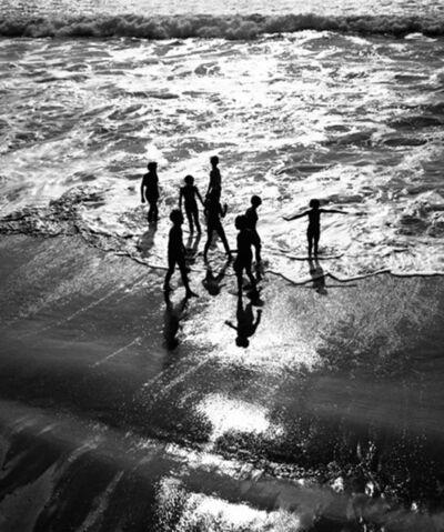Pierre Jamet, 'Bain dans les vagues Belle-Île', 1934