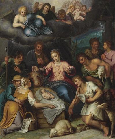 Otto van Veen, 'The Adoration of the Shepherds'