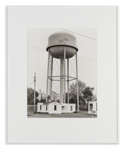 Bernd and Hilla Becher, 'Water Tower, Greencastle, Pennsylvania, USA', 1974
