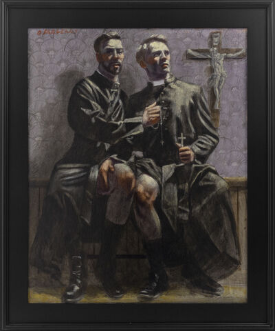 Mark Beard, '[Bruce Sargeant (1898-1938)] Two Priests in Their Robes', 2020