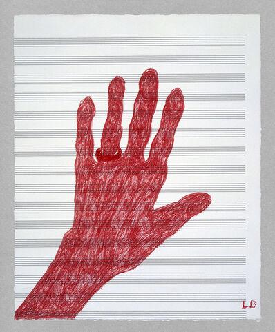 Louise Bourgeois, 'My Hand', 2002