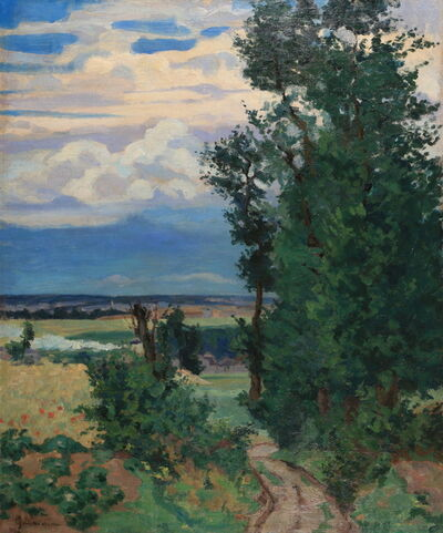 Jean Baptiste Armand Guillaumin, 'Le chemin creux'