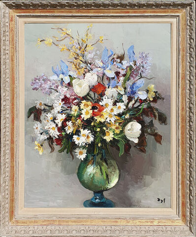 Marcel Dyf, 'Still Life of Flowers in a Glass Vase', 20th Century