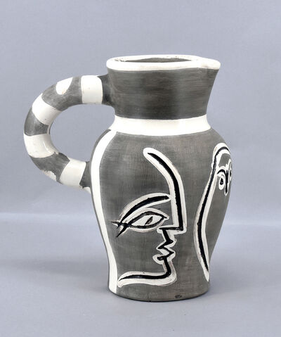 Pablo Picasso, 'Grey Engraved Pitcher', 1954
