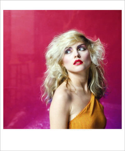 Mick Rock, 'Pink Debbie Harry, NYC', 1978