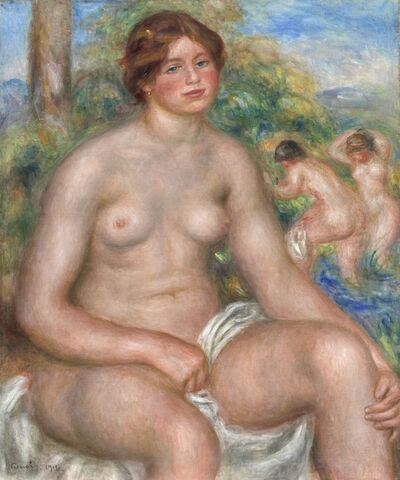 Pierre-Auguste Renoir, 'Seated Bather', 1914