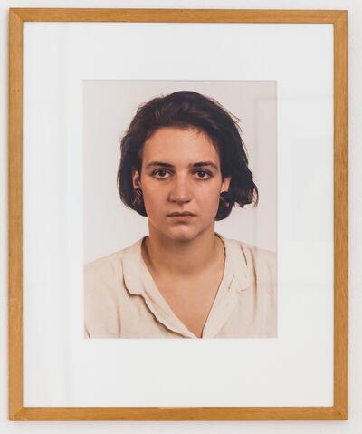 Thomas Ruff, 'Porträt (M. Baer)', 1987