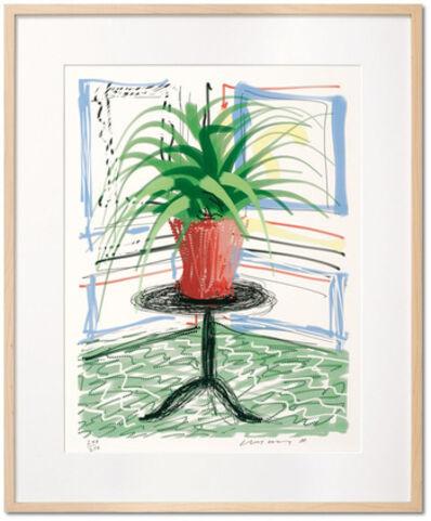 David Hockney, 'Untitled no. 468, from A Bigger Book: Art Edition C', 2010-2016