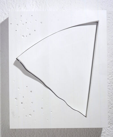 Yoshishige Saito, 'The Oblique 4 (White)', 1998