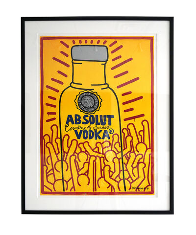 Keith Haring, 'Absolute Vodka', 1986