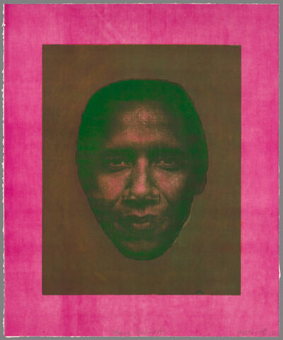 Joyce J. Scott, 'Obama, Earnest', 2012