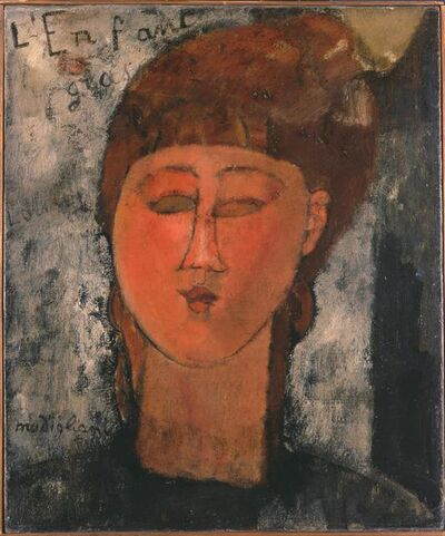 Amedeo Modigliani, 'The fat child', 1915