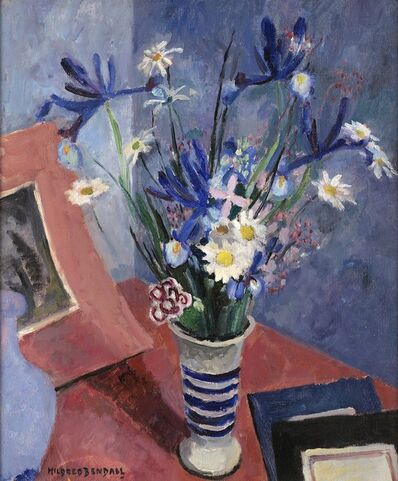 Mildred Bendall, 'Irises and Daisies', ca. 1930