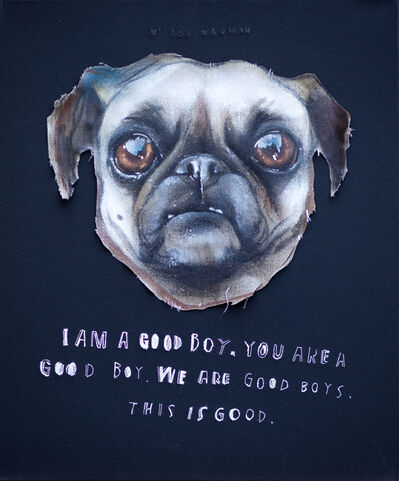 Herakut, 'I Am A Good Boy', 2013