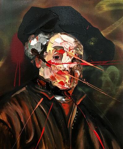 Frans Smit, 'After Rembrandt Self Portrait', 2017