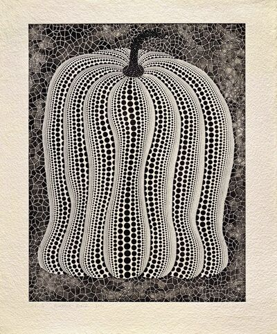 Yayoi Kusama, 'Pumpkin-Black', 2006