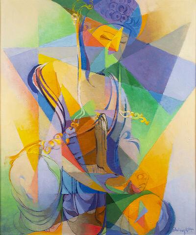 Stanton MacDonald-Wright, 'Shō-Kannon', 1961