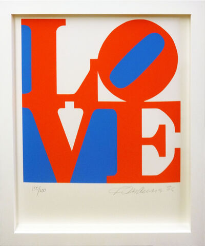 Robert Indiana, 'Book of Love 5', 1996