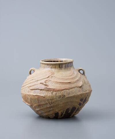 Ken Matsuzaki, 'Vase, yohen natural ash glaze'
