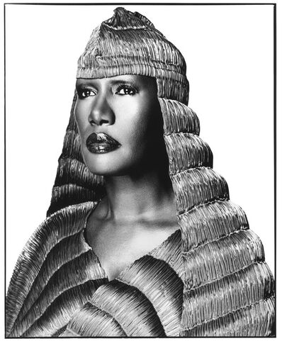 David Bailey, 'Grace Jones', 2008