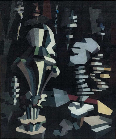 Ángel Zárraga, 'Composition cubiste', 1913-1915