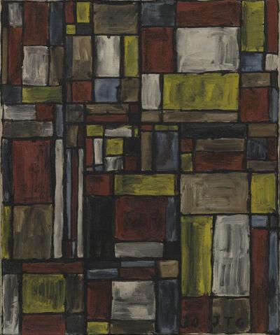 Joaquín Torres-García, 'Estructura en color (Color structure)', 1930