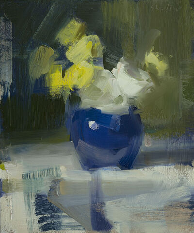 David Shevlino, 'White, Yellow, Blue', 2014