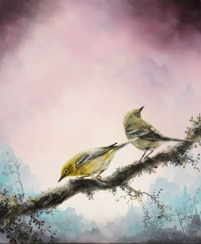 Brian Mashburn, 'Spring (Pine Warblers)', 2020