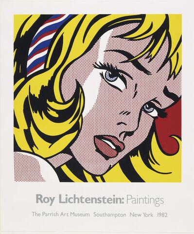 Roy Lichtenstein, 'Parrish Art Museum (Girl with Hair Ribbon)', 1982