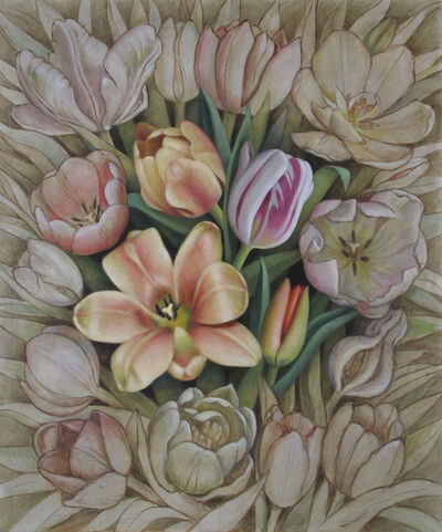 Christina Mosegaard, 'Composition with Tulips II', 2015