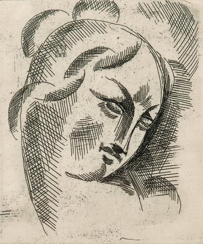 Elie Nadelman, 'Head Study'