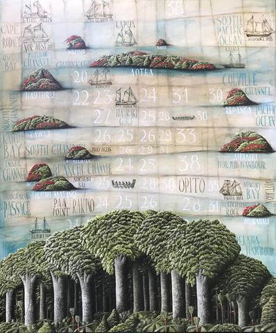 Mark Wooller, 'Hauraki Gulf', 2021